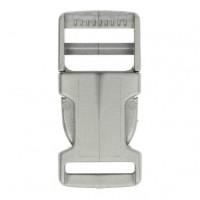 Mini Klikgesp 16mm Zilver