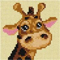 Borduren voor Beginners - Borduurpakket Giraffe