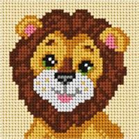 Borduren voor Beginners - Borduurpakket Leeuw