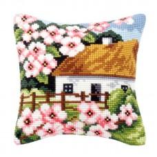 Kussenpakket House with Flowers