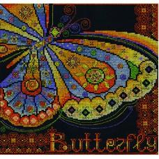 Borduurpakket Butterfly