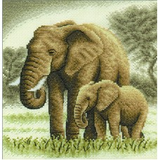 Borduurpakket Elephants