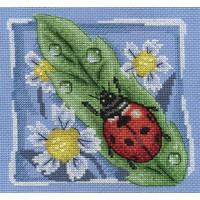Borduurpakket Lady bug