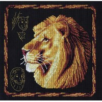 Borduurpakket Lion
