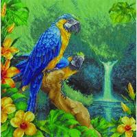 Borduurpakket Parrots
