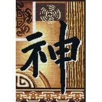 Compleet borduurpakket met telpatroon - Spiritual strength