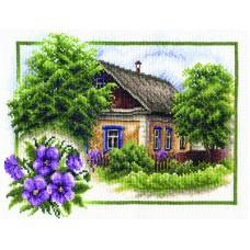 Borduurpakket Summer house