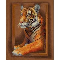 Borduurpakket Tiger