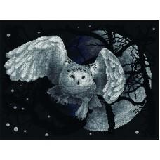 Borduurpakket White owl