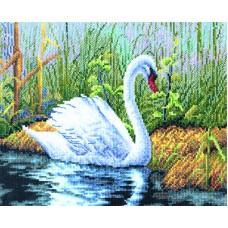 Borduurpakket White Swan