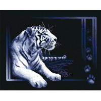 Borduurpakket White Tiger
