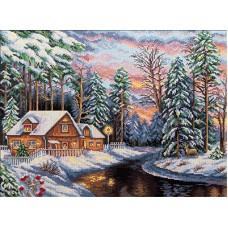 Borduurpakket Winter landscape