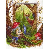 Borduurpakket Gobelin in the woods