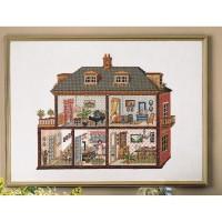 Borduurpakket Dolls-House