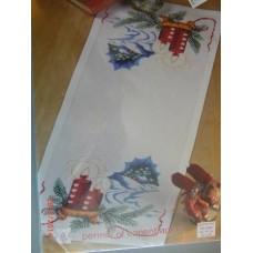 Borduurpakket Kerstloper Heartcandles