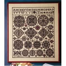 Borduurpakket Merklap Vierlande 1826