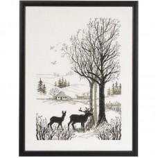 Borduurpakket Roe deer