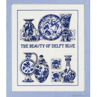 Borduurpakket The beauty Of Delft Blue