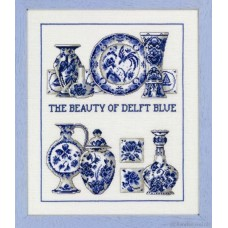 Borduurpakket The beauty Of Delft Blue