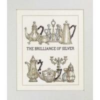 Borduurpakket The Brilliance Of Silver