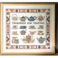 Borduurpakket Treasures For Teatime