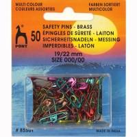 Veiligheidsspelden Gekleurd 19-22 mm