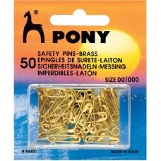 Veiligheidsspelden Goudkleurig 19-22 mm