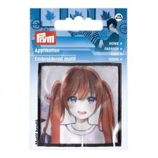 Applicatie K-Pop Girl Red Hair