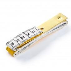 Meetlint 150cm - Metalen clip met ophangoog