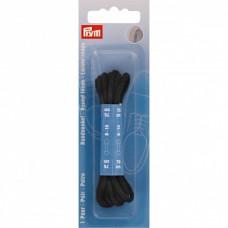 Schoenveters dun rond 75 cm Zwart