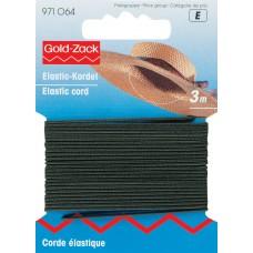 Hoedenelastiek 1,5 mm Zwart