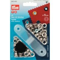Ringen en Schijven 5 mm Zilverkleurig