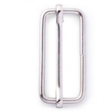 Regelbare Gesp Zilver 40mm