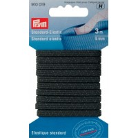 Elastiek Standaard 5mm Zwart