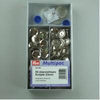 Stofknopen Multipack 23 mm - 50 stofknopen complete set