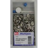 Stofknopen Multipack 19 mm