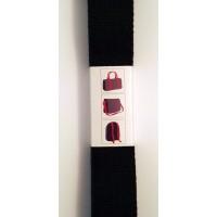 Tassenband Katoen Zwart