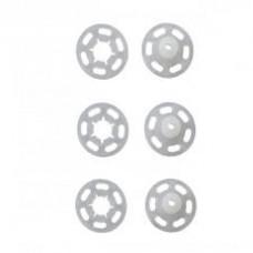 Drukknopen Transparant 13mm vernaaibaar