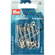 Veiligheidsspelden Zilver 38 mm