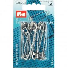 Veiligheidsspelden Zilver 50 mm