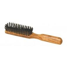 Haarborstel olijfhout voor dikker haar