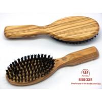 Handtas haarborstel olijfhout