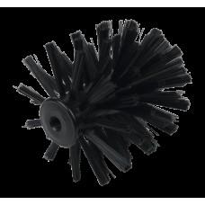 Toiletborstel nylon - Vervangkop met schroefdraad