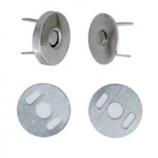 Magneetsluiting Ø14 mm Zilver