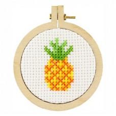 Borduurpakket Ananas inclusief ring